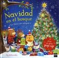 Ag Jatkowska - Navidad en el bosque - Un libro con solapas. Con un gran pop-up !.