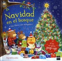 Accentsonline.fr Navidad en el bosque - Un libro con solapas. Con un gran pop-up! Image