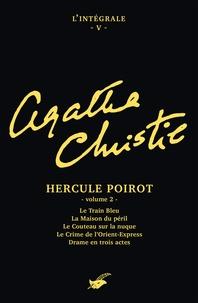 Agatha Christie - Intégrale Hercule Poirot (second volume) - Intégrale n°5 - Hercule Poirot volume 2.