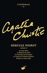 Agatha Christie - Intégrale Hercule Poirot volume 2.