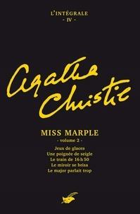 Agatha Christie - Intégrale Miss Marple (second volume) - Intégrale n°4 - Miss Marple volume 2.