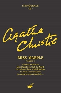 Agatha Christie - Intégrale Miss Marple - volume 1.