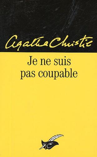 Agatha Christie - Je ne suis pas coupable.