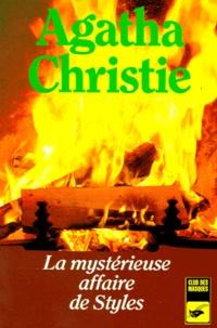 La mystérieuse affaire de Styles - Agatha Christie |
