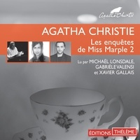 Agatha Christie et Michael Lonsdale - Les enquêtes de Miss Marple 2 - Le Sanctuaire d'Astarté - L'herbe de la mort - La demoiselle de compagnie.