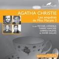 Agatha Christie et Michael Lonsdale - Les enquêtes de Miss Marple 3 - Les lingots d'or - L'affaire du bungalow - Les quatre suspects - Le géranium bleu.