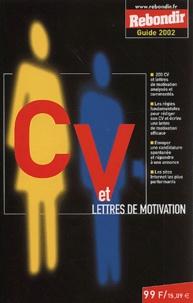 Histoiresdenlire.be CV et lettres de motivation. Edition 2002 Image