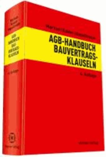 AGB-Handbuch Bauvertragsklauseln.
