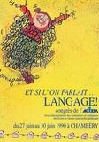 AGEEM - Et si l'on parlait... Langage ! - Congrès de l'AGIEM, Juin 1990, Chambéry.