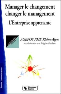 AGEFOS PME Rhône-Alpes et Brigitte Frachon - .