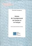 Agence Francophone Enseignemen et  Collectif - .
