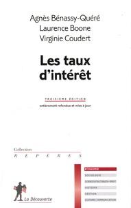 Agnès Bénassy-Quéré et Laurence Boone - Les taux d'intérêt.