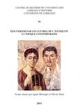 Agnès Bérenger et Olivier Dard - Gouverner par les lettres, de l'Antiquité à l'époque contemporaine.