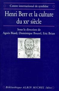 Agnès Biard et Dominique Bourel - Henri Berr et la culture du XXe siècle - Histoire, science et philosophie, actes du colloque international, 24-26 octobre 1994, Paris.
