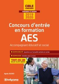 Agnès Busko - Concours d'entrée en formation AES Accompagnant Educatif et Social.