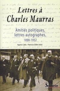 Cjtaboo.be Lettres à Charles Maurras - Amitiés politiques, lettres autographes, 1898-1952 Image