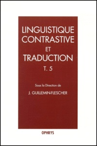 Agnès Celle et Hélène Chuquet - Linguistique contrastive et traduction.