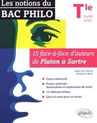 Télécharger des livres en allemand ipad Les notions du Bac philo Tle toutes séries  - 15 face-à-face d'auteurs de Platon à Sartre PDB FB2 DJVU