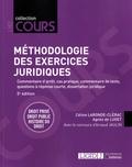 Agnès de Luget et Céline Laronde-Clérac - Méthodologie des exercices juridiques - 5 exercices, 3 disciplines.