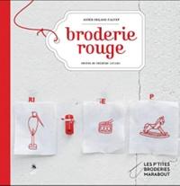 Agnès Delage-Calvet - Broderie rouge.