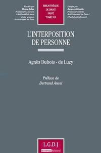 Deedr.fr L'interposition de personne Image