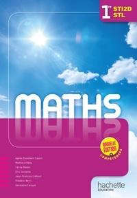 Agnès Excellent-Savart et Mathieu Hibou - Mathématiques 1e STI2D STL - Livre de l'élève.