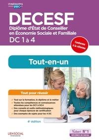 Agnès Fostel et Gladys Bugeault - DECESF DC 1 à 4 - Diplôme d'Etat de Conseiller en économie sociale familiale.