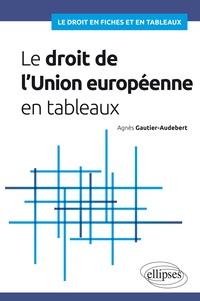 Agnès Gautier-Audebert - Le droit de l'Union européenne en tableaux.