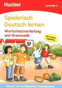 Corridashivernales.be Spielerisch Deutsch lernen - Wortschatzvertiefung und Grammatik Lernstufe 3 Image