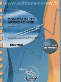 Comptabilité approfondie UE 10 du DCG - Enoncé.pdf