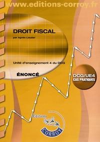 Deedr.fr Droit fiscal UE 4 du DCG - Enoncé Image