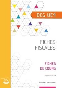 Agnès Lieutier - Fiches fiscales UE 4 du DCG.