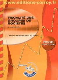 Agnès Lieutier - Fiscalité des groupes de sociétés UE1 du DCG - Fiches de cours.