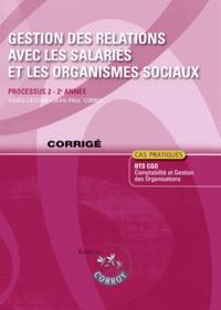 Deedr.fr Gestion des relations avec les salariés et les organismes sociaux Processus 2 du BTS CGO - Corrigé Image