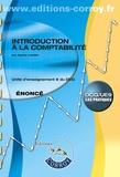 Agnès Lieutier - Introduction à la comptabilité UE 9 du DCG - Enoncé.