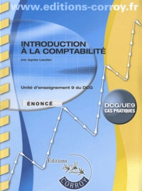 Histoiresdenlire.be Introduction à la comptabilité UE9 du DCG - Enoncé Image