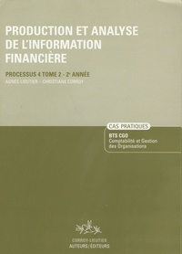 Production et analyse de linformation financière, BTS CGO - Cas pratiques, processus 4, tome 2, 2ème année.pdf