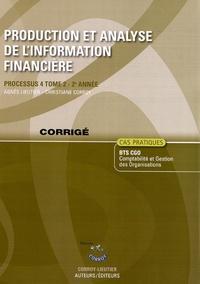 Production et analyse de linformation financière Processus 4 du BTS CGO 2e année Tome 2 - Cas pratique, corrigé.pdf