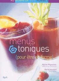 Agnès Mignonac - Menus toniques pour être en forme.