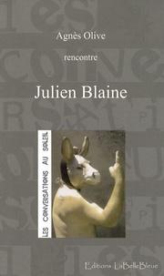 Agnès Olive - Julien Blaine - Rencontre.