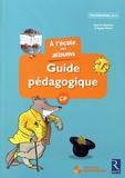 Agnès Perrin - A l'école des albums CP série bleue - Guide pégagogique. 1 Cédérom