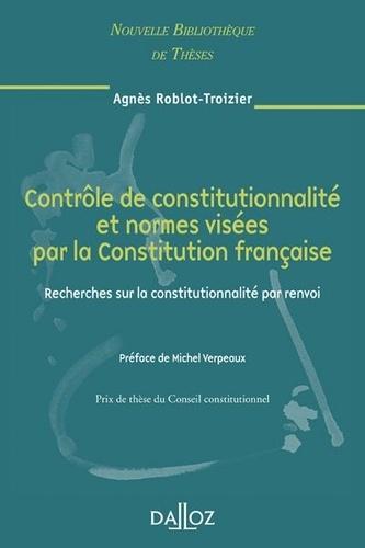 contr u00f4le de constitutionnalit u00e9 et normes     agn u00e8s roblot-troizier - decitre - livre