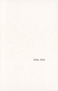 Agnès Rouzier - Non, rien.