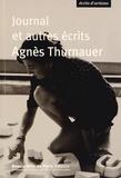 Agnès Thurnauer - Journal et autres écrits.
