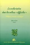 """Agnès Van Zanten - La scolarisation dans les milieux """"difficiles"""" - Politiques, processus et pratiques."""