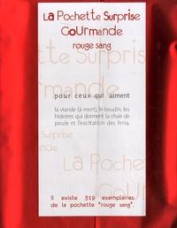 Deedr.fr La Pochette Surprise Gourmande Rouge sang - Pour ceux qui aiment la viande (à mort), le boudin, les histoires qui donnent la chair de poule et l'excitation des féria Image