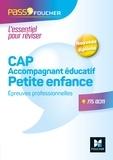 Agnès Voron et Pierre Sibourg - Pass'Concours - CAP Accompagnant Educatif Petite Enfance Epreuves professionnelles - Entrainement.
