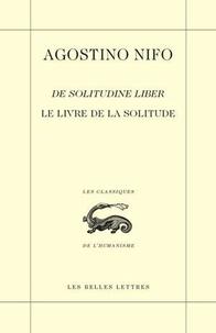 Agostino Nifo - Le livre de la solitude.