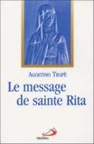 Agostino Trapè - Le message de sainte Rita.