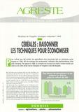 """Agreste - Agreste Données N° 83, Octobre 1995 : Céréales : raisonner les techniques pour économiser - Résultats de l'enquête """"pratiques culturales"""" 1994."""